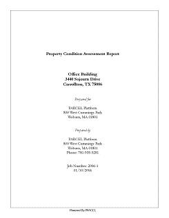 sample cover pages for reports